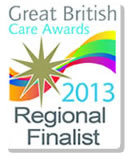 Great British Care Awards 2013 Finalist