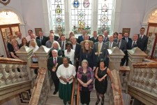 Over 60 Candidates attend the SVT UK Graduation