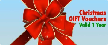 Christmas Vouchers available at SVT.